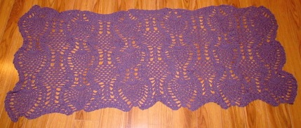 shawl_purple pineapples1